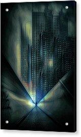 Cold Architecture Acrylic Print