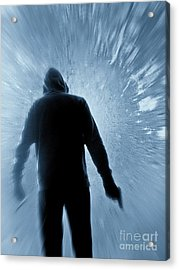Cold As Ice Acrylic Print by Edward Fielding