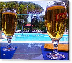 Acrylic Print featuring the photograph Cold Beers by Giuseppe Epifani