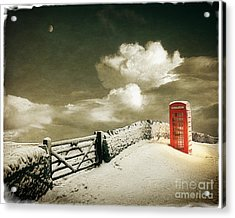Cold Call Acrylic Print