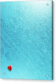 Cold Cold Heart Acrylic Print by Cristophers Dream Artistry