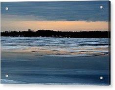 Cold Colour Wash 1 - Canada Acrylic Print