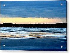Cold Colour Wash 3 - Canada Acrylic Print