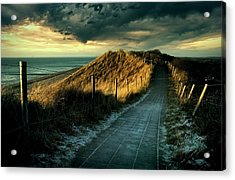 Cold Fence......... Acrylic Print