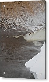 Cold Fills The Void Acrylic Print by Odd Jeppesen