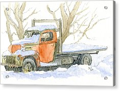 Cold Ford Acrylic Print