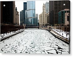 Cold In Color Acrylic Print by Joanna Madloch