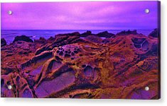 Cold Lava Acrylic Print by Sharon Costa