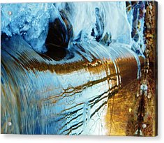 Cold Meets Warm Acrylic Print by Sharon Costa