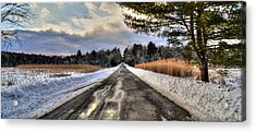 Cold Spring Road - Berkshire County Acrylic Print