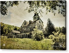 Acrylic Print featuring the photograph Cold Springs Hotel by Vicki DeVico