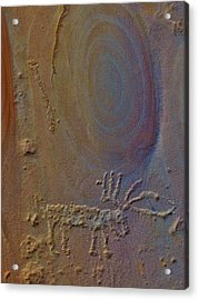 Cold Springs Rock Art Acrylic Print