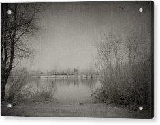 Cold Time Acrylic Print by Svetlana Sewell