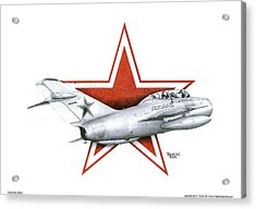 Cold War Relic Acrylic Print by Trenton Hill
