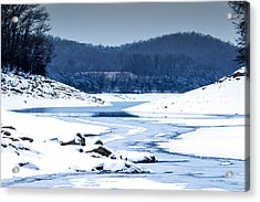 Cold Winter Day Acrylic Print