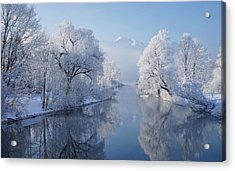 Coldest Morning Acrylic Print