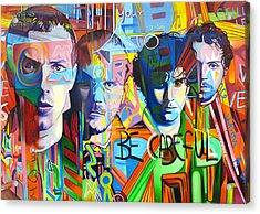 Coldplay Acrylic Print by Joshua Morton