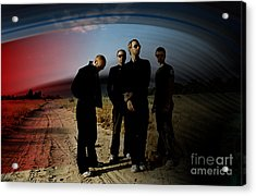 Coldplay Acrylic Print by Marvin Blaine