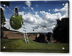 Acrylic Print featuring the photograph Coldrum Longbarrow  by Mariusz Zawadzki
