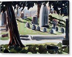 Cole Porter Burial Site Acrylic Print
