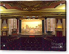 Acrylic Print featuring the photograph Coleman Theatre by Utopia Concepts