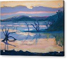 Coletta Lake Acrylic Print by Charles Krause