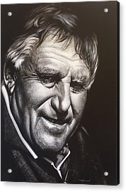 Colin Meads Acrylic Print by Bruce McLachlan