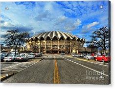Coliseum Daylight Acrylic Print by Dan Friend