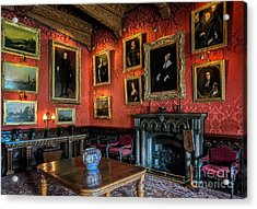 Collection Of Paintings Acrylic Print by Adrian Evans