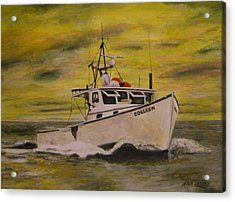 Acrylic Print featuring the painting Colleen by Stan Tenney
