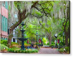 College Of Charleston Acrylic Print