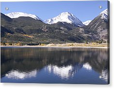 Collegiate Peaks Reflected Acrylic Print