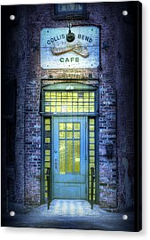 Collision Bend Cafe-cleveland Acrylic Print