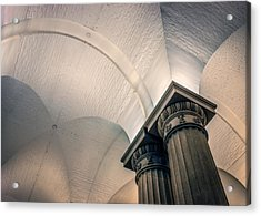 Acrylic Print featuring the photograph Columns by Rob Sellers