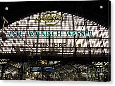 Cologne - Central Station - 4711 Acrylic Print