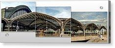 Cologne Central Train Station - Koln Hauptbahnhof - 02 Acrylic Print by Gregory Dyer