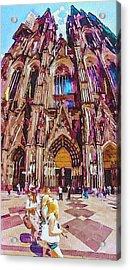 Cologne Dome Acrylic Print