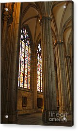 Cologne Germany - High Cathedral Of St. Peter - 02 Acrylic Print by Gregory Dyer