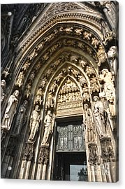 Cologne Germany - High Cathedral Of St. Peter - 05 Acrylic Print by Gregory Dyer