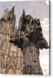 Cologne Germany - High Cathedral Of St. Peter - 08 Acrylic Print by Gregory Dyer