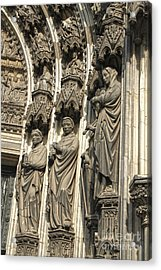 Cologne Germany - High Cathedral Of St. Peter - 12 Acrylic Print by Gregory Dyer