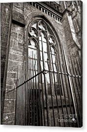 Cologne Germany - High Cathedral Of St. Peter - 14 Acrylic Print by Gregory Dyer