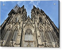 Cologne Germany - High Cathedral Of St. Peter - 16 Acrylic Print by Gregory Dyer