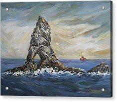 Colombretes Island Acrylic Print by Stefano Popovski
