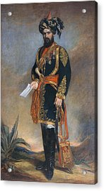 Colonel Probyn Cb Vc Honorary Adc Acrylic Print by James Rannie Swinton