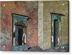 Colonial Mexico Acrylic Print by Lynda K Boardman