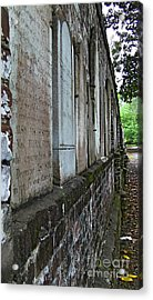 Colonial Park Cemetery Acrylic Print by D Wallace