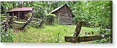 Colonial Village Acrylic Print