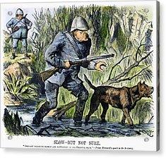 Colonialism Cartoon, 1889 Acrylic Print by Granger