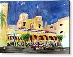 Colony Hotel In Delray Beach Acrylic Print